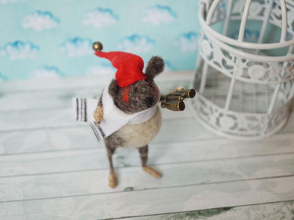 Новые новогодние мышата в моем магазинчике | Ярмарка Мастеров - ручная работа, handmade
