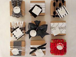 Креативные идеи для упаковки подарков. Ярмарка Мастеров - ручная работа, handmade.