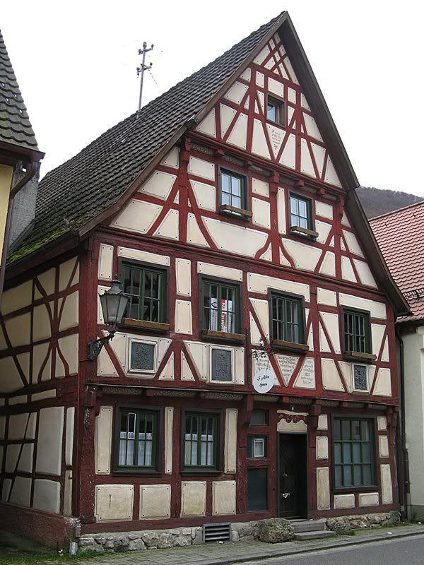 Сказочные дома в фахверковском стиле, фото № 6