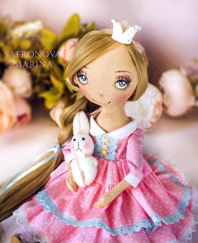 купить куклу принцессу, купить интерьерную куклу