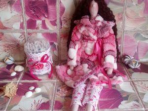 Тильда банный ангел — Анита, видеообзор. Ярмарка Мастеров - ручная работа, handmade.