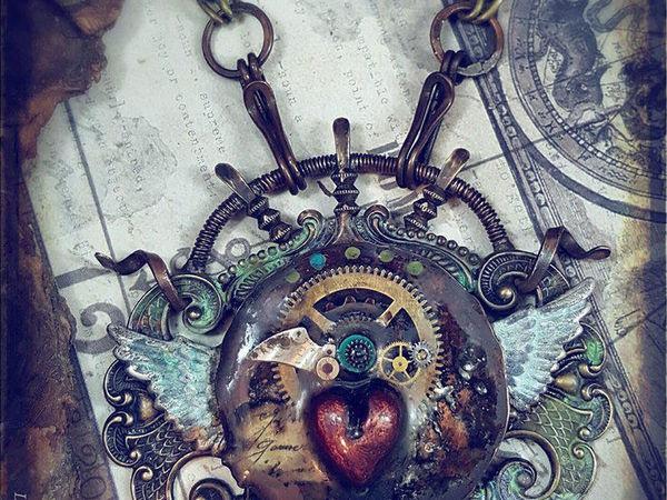 Смесь викторианства, этники и стимпанка в украшениях Luthien Thye | Ярмарка Мастеров - ручная работа, handmade