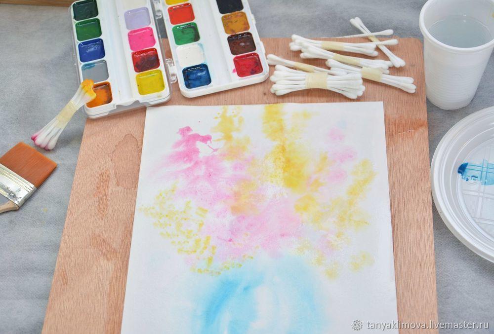 рисуем картину с детьми