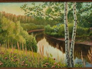 Русский пейзаж. Ярмарка Мастеров - ручная работа, handmade.