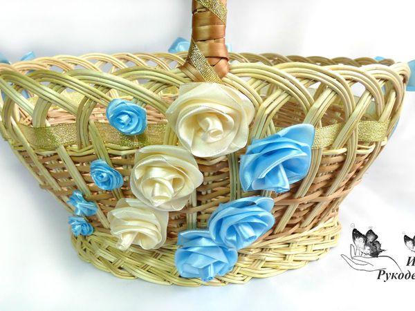 Как украсить пасхальную корзинку: видеоурок   Ярмарка Мастеров - ручная работа, handmade