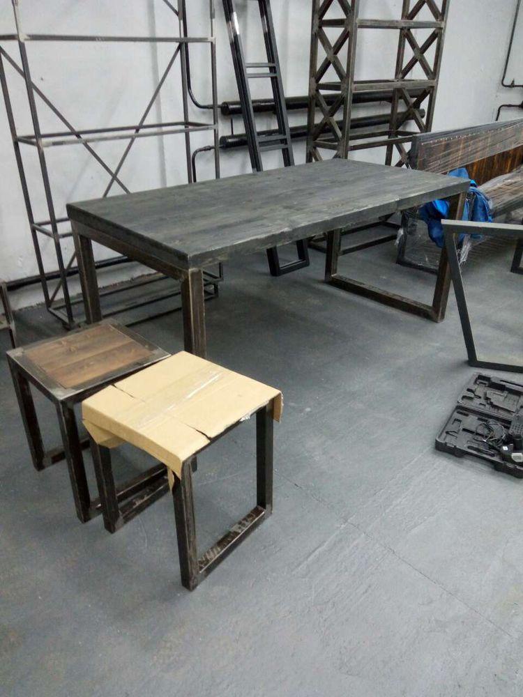 производитель мебели лофт, заказать мебель лофт, стол