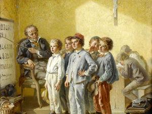 Учителя и их ученики на картинах старых мастеров: подборка из 37 полотен. Ярмарка Мастеров - ручная работа, handmade.