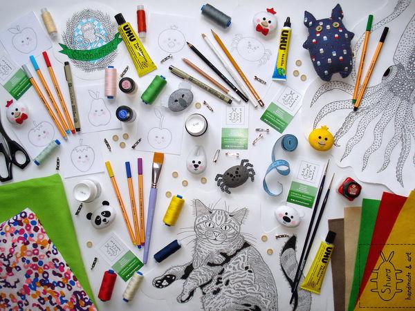 Организация рабочего пространства. Ярмарка Мастеров - ручная работа, handmade.