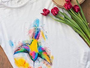 Хотели бы посетить мой МК по росписи одежды?:). Ярмарка Мастеров - ручная работа, handmade.