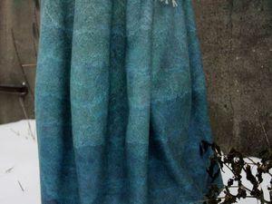 Объемные юбки и сарафаны из тонкого войлока – магия женственности от Натальи Кондрашевой и Оксаны Ткаченко | Ярмарка Мастеров - ручная работа, handmade