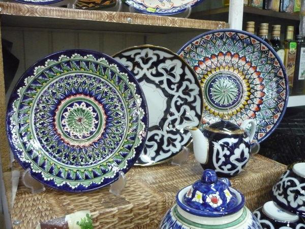 Посуда из Риштана. Красота неописуемая! | Ярмарка Мастеров - ручная работа, handmade
