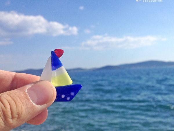 Путешествие кораблика | Ярмарка Мастеров - ручная работа, handmade