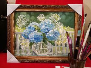 Аукцион на 4 картины маслом. Ярмарка Мастеров - ручная работа, handmade.
