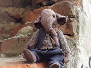 День акции на слона Эда! В среду!. Ярмарка Мастеров - ручная работа, handmade.
