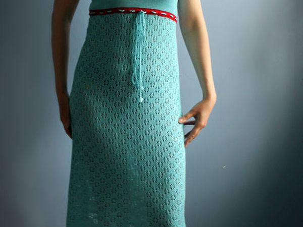 Аукцион на вязаное платье. Старт 1500 руб | Ярмарка Мастеров - ручная работа, handmade