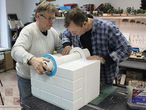 Работа над макетом рекуперационного клапана. Ярмарка Мастеров - ручная работа, handmade.