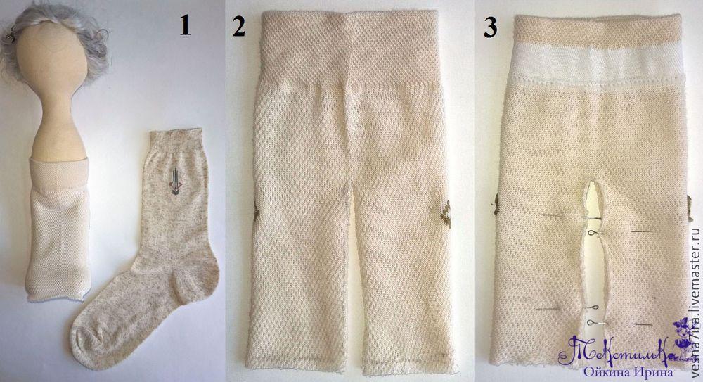 Выкройка пальто для куклы большеножки