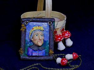 Сказочный кулон. Ярмарка Мастеров - ручная работа, handmade.