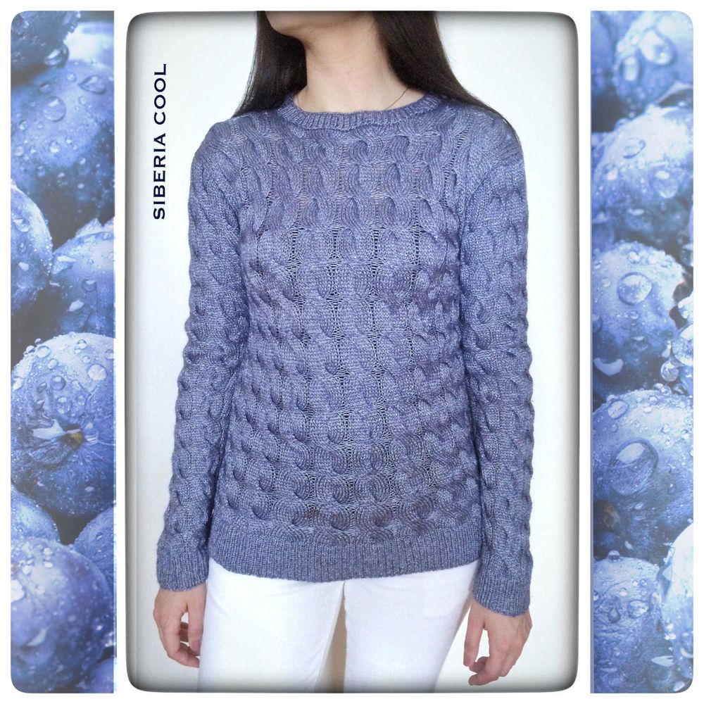 косы, свитер спицами, для женщин, стильная одежда