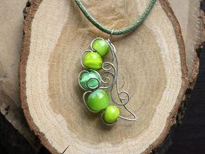 Зелёный горошек — символ лета!. Ярмарка Мастеров - ручная работа, handmade.