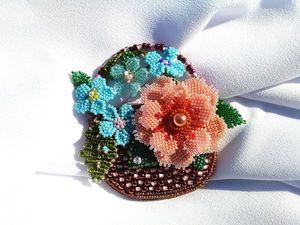 """Видео просмотр. АКЦИЯ на новинку """"Цветы в корзинке"""". Ярмарка Мастеров - ручная работа, handmade."""