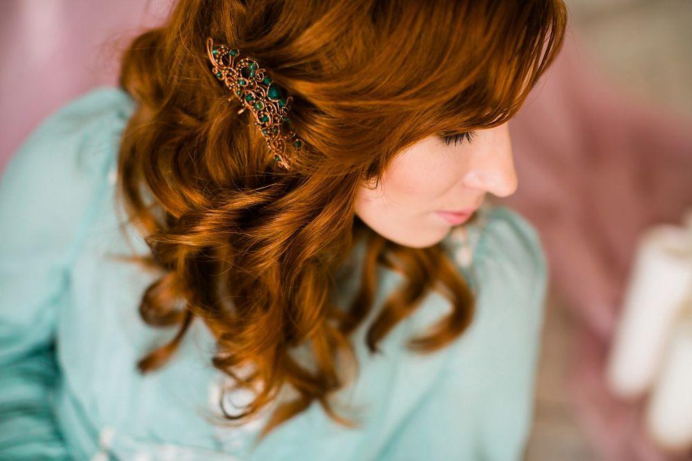 гребень на свадьбу, украшения для волос