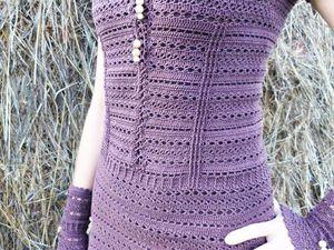 Акция на вязанное платье -  40 % | Ярмарка Мастеров - ручная работа, handmade
