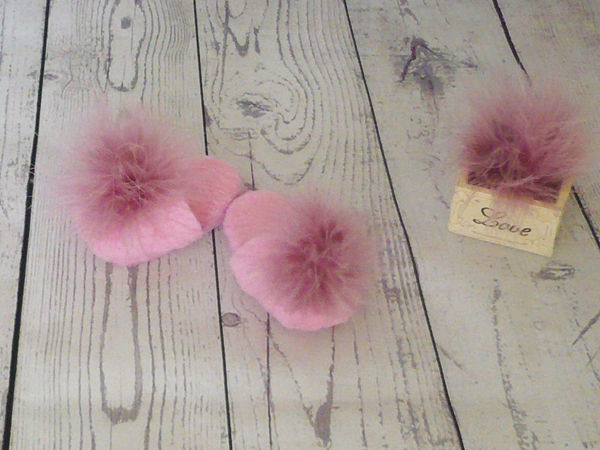 How to Easily Make Miniature Slippers for a Doll | Livemaster - handmade