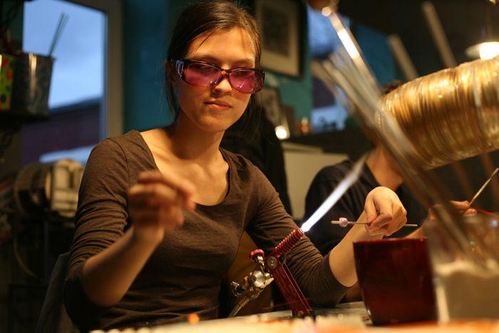 бусины ручной работы, украшения ручной работы, обучение лэмпворк, lampwork