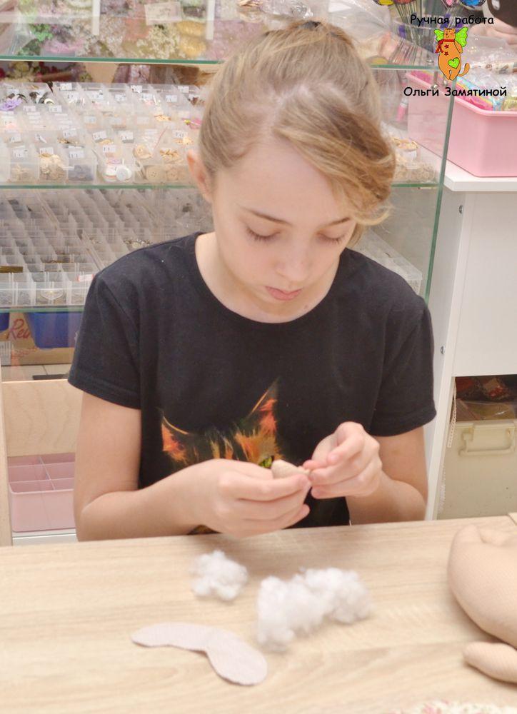 мастер-класс для детей, научиться шить