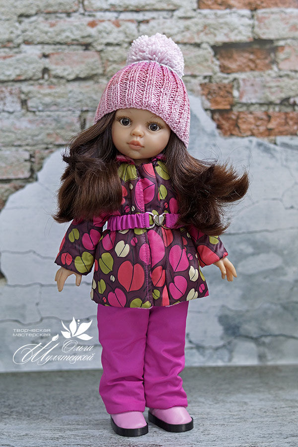 выкройки для кукол, paila reina