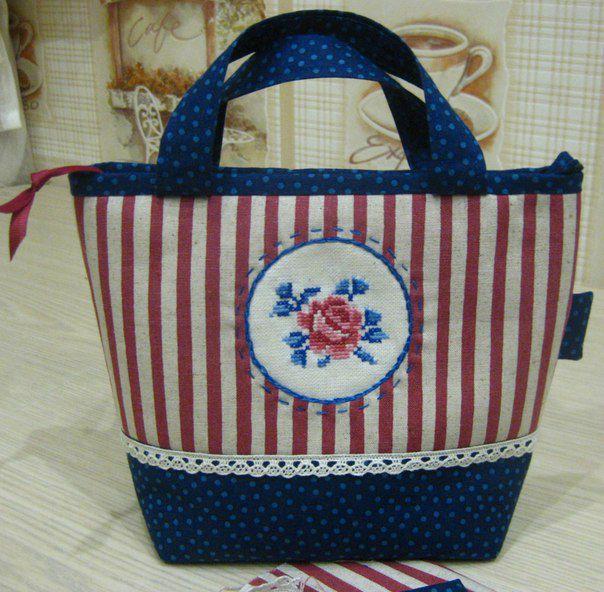 косметичка ручной работы, оригинальная упаковка, японский пэчворк