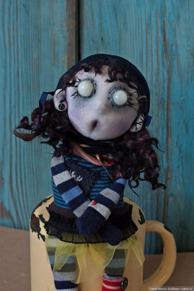 страшная кукла