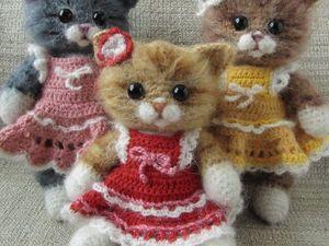 Кошечка крючком. Какие получаются кошечки, фотогалерея. Ярмарка Мастеров - ручная работа, handmade.