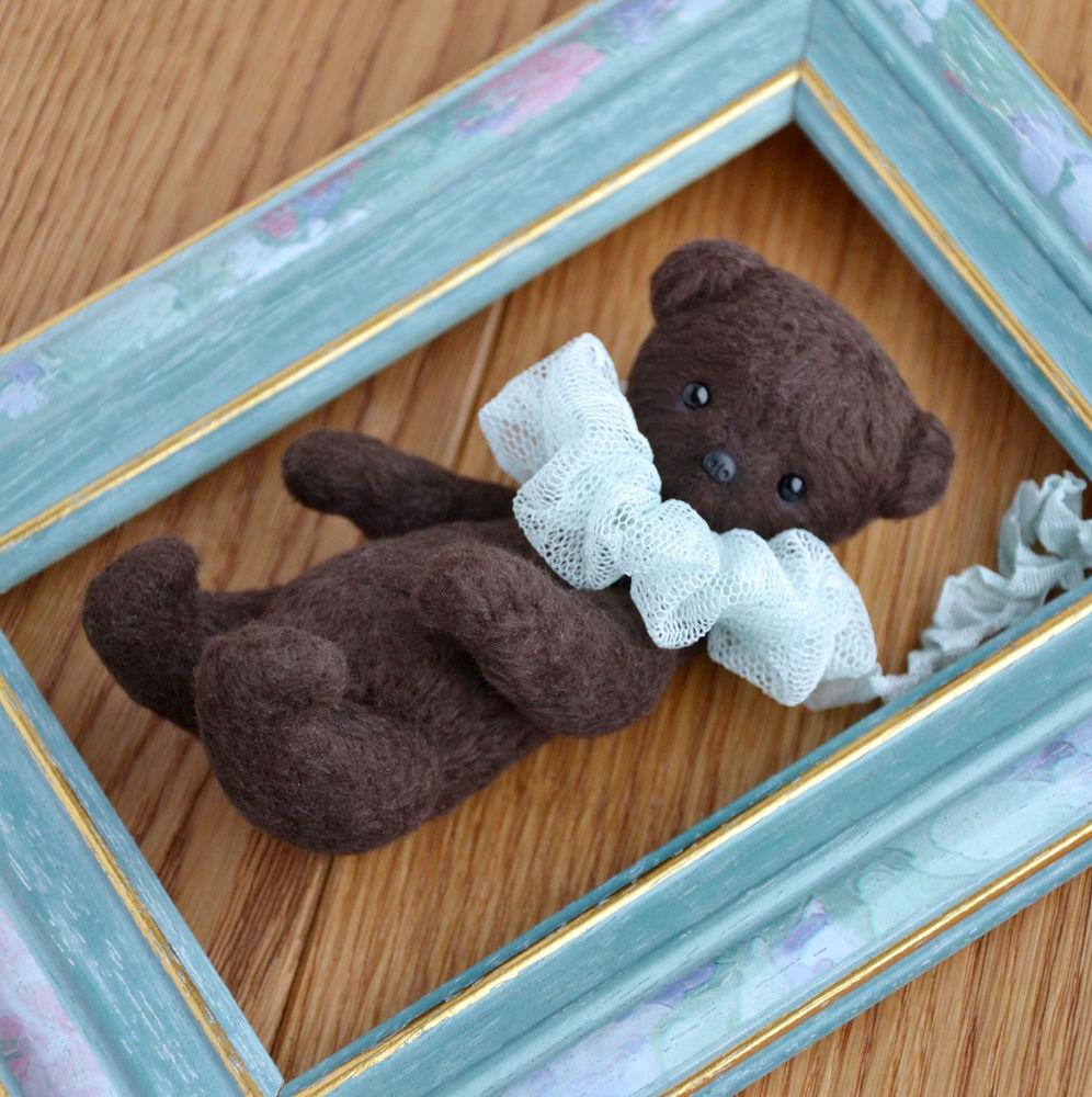 медведь, шоколадный