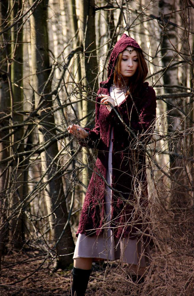 вязание крючком, фриформ, пальто женское, бохо одежда