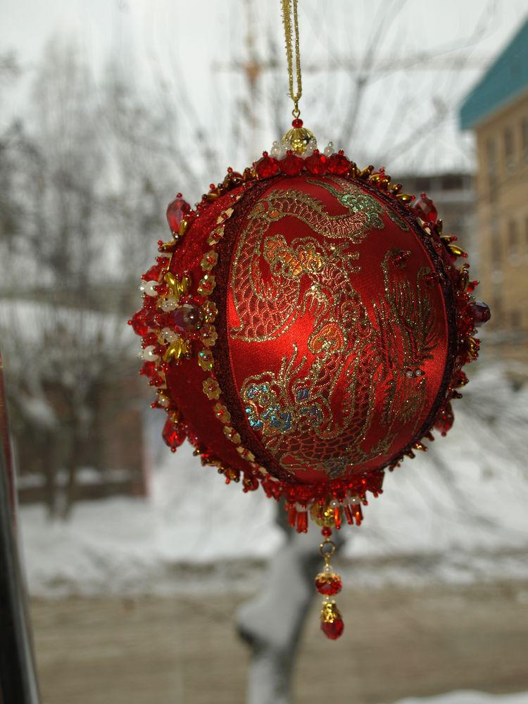 елочные шары, новогодний интерьер