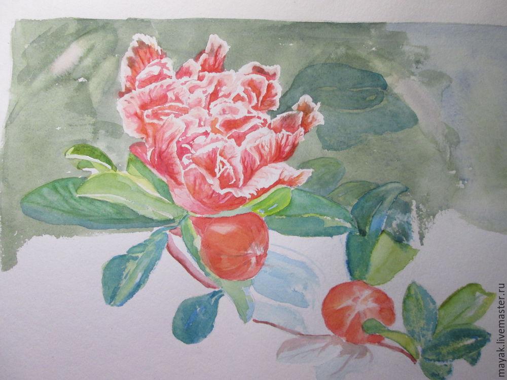 мк для начинающих, рисовать поэтапно цветы