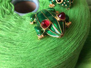 Лягухи и не только выбирают зеленый!!! | Ярмарка Мастеров - ручная работа, handmade