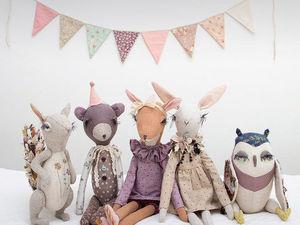 Игрушки в винтажном стиле от Lena Bekh — наслаждение для эстетов. Ярмарка Мастеров - ручная работа, handmade.