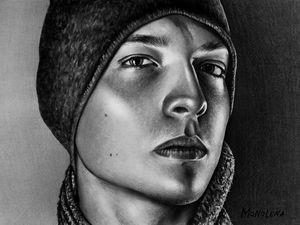 Портрет от Monolena. Ярмарка Мастеров - ручная работа, handmade.
