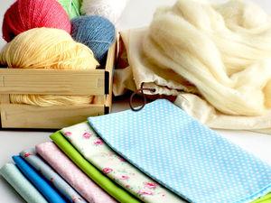 Выбор материалов для шитья кукол. Ярмарка Мастеров - ручная работа, handmade.