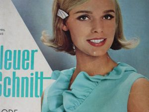 Neuer Schnitt — старый немецкий журнал мод 4/1965. Ярмарка Мастеров - ручная работа, handmade.