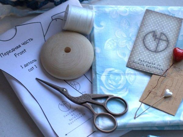 Небольшой мастер-класс по созданию мини-манекена   Ярмарка Мастеров - ручная работа, handmade