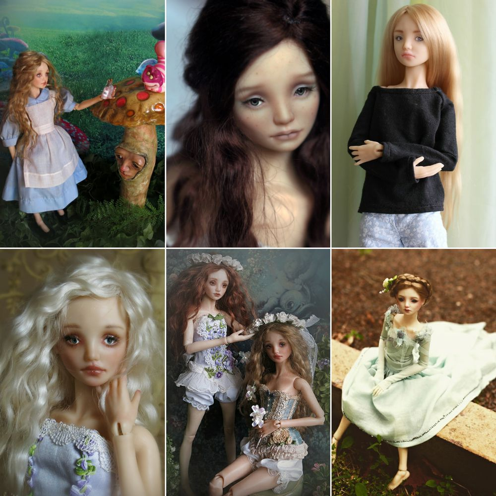 шарнирная кукла, коллекционная кукла, кукла из полиуретана, artdoll, elldolls
