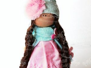 Мастер-класс по созданию текстильной куклы «Куколка-Малышка» | Ярмарка Мастеров - ручная работа, handmade