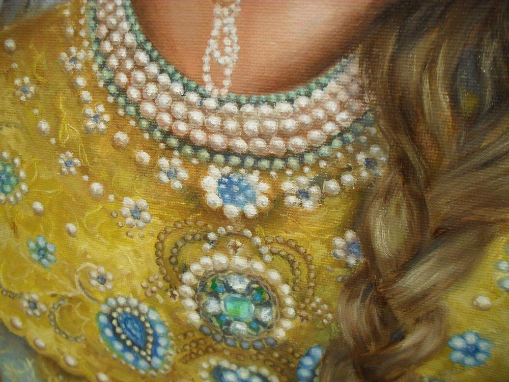 портрет девушки, женщина, исторический костюм
