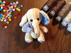 Розыгрыш слоника. Ярмарка Мастеров - ручная работа, handmade.