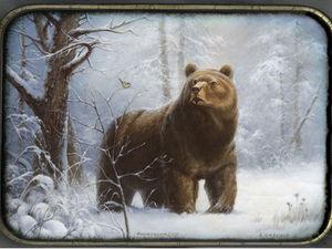 Медведь в лаковой миниатюре: 20 прекрасных изделий. Ярмарка Мастеров - ручная работа, handmade.