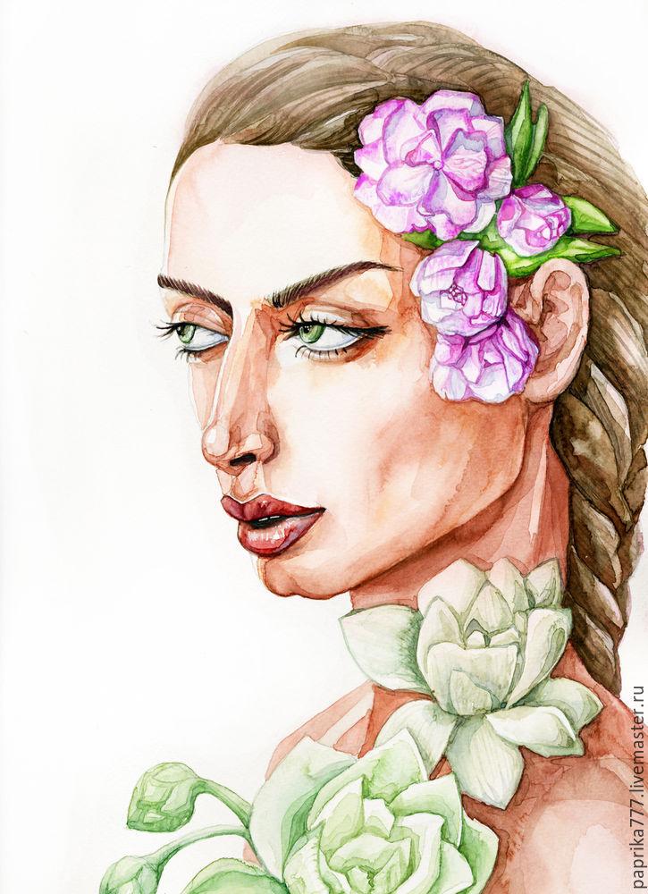 портрет, картина в подарок